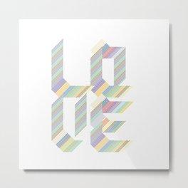 an abstract Metal Print