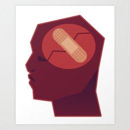 Brain Issues - Healing Process Art Print