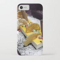 dessert iPhone & iPod Cases featuring Dessert by Ornaart