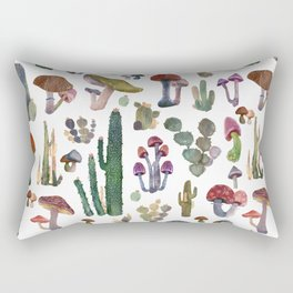CACTUS AND MUSHROOMS NEW Rectangular Pillow