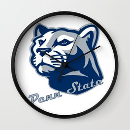 The Nittany Lions Wall Clock