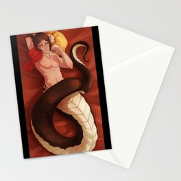 Care to Join Me? Naga Stationery Cards