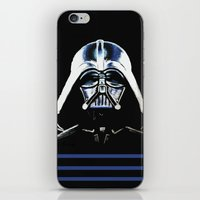 vader iPhone & iPod Skins featuring VADER by Aoife Rooney Art