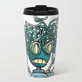Robot Gorgon Travel Mug