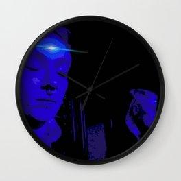 Ashley the Interdimensional Intruder Wall Clock