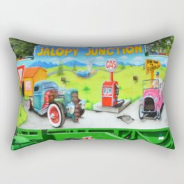 Jalopy Junction 3 Rectangular Pillow