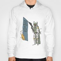 boba Hoodies featuring Boba by Lewis Farrow