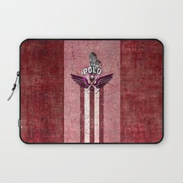 poloplayer red Laptop Sleeve