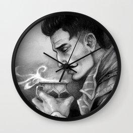 Dragon Age Inquisition - Dorian Pavus - Morning tea Wall Clock