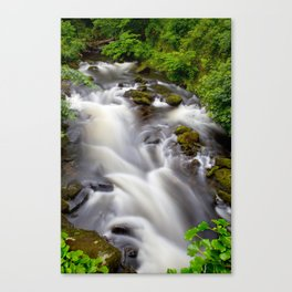 Welsh Falls Canvas Print