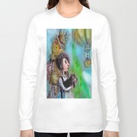 oz Long Sleeve T-shirts featuring  oz by AliluLera