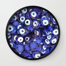 Turkish Amulets Wall Clock