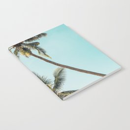 Palm Tree Beach Summer Notebook