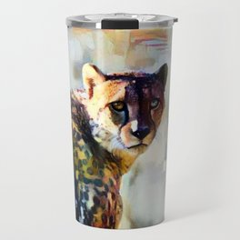 Your Cheetah Eyes Travel Mug