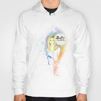 buffy Hoodies featuring Buffy the Vampire Slayer by Nasstache