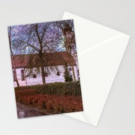 Baden-Wurttemberg : St.Leonhards chapel - Laupheim Stationery Cards