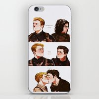stucky iPhone & iPod Skins featuring memories fade by suitfer