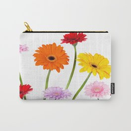 Colorful gerbera daisies Carry-All Pouch