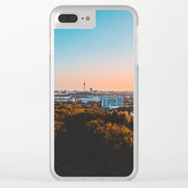 Beautiful Berlin in the afternoon Clear iPhone Case