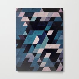 0052 // blux redux Metal Print