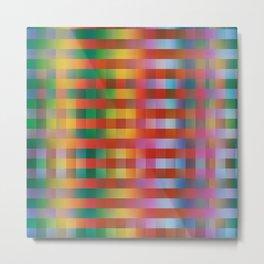 Fall/Winter 2016 Pantone Color Pattern Metal Print