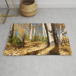 Crested Butte Colorado Fall Colors Panorama - #2 Rug