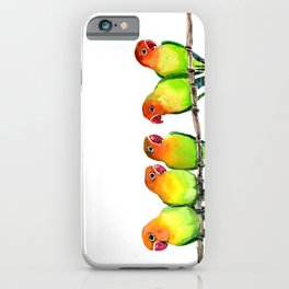We are Watching you! iPhone Case