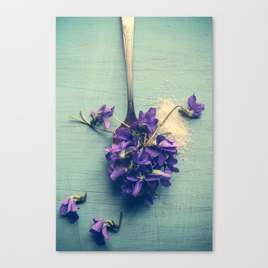 Sweet Violets Canvas Print