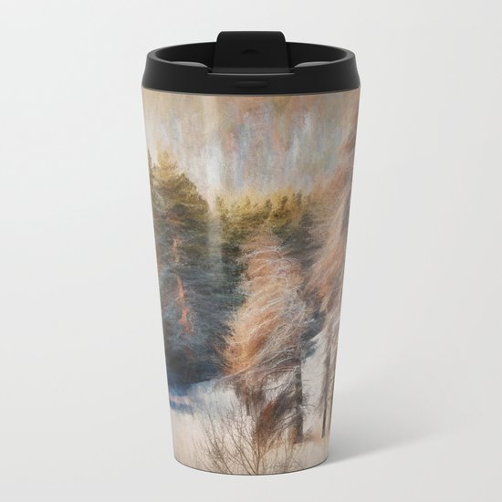 Terra Incognita Metal Travel Mug