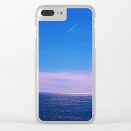 Shot on Mars Clear iPhone Case