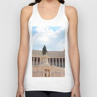 rome Tank Tops featuring Rome by Anya Kubilus