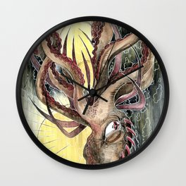 Le Dieu de la Mer Wall Clock