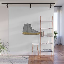 YZY Boost 750 Light Brown Gum (Grey) Wall Mural