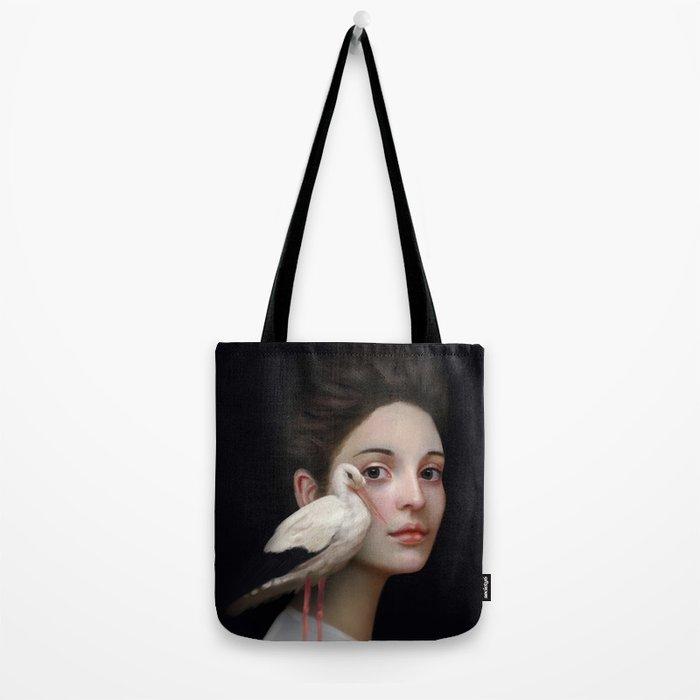 Miss Stork Tote Bag