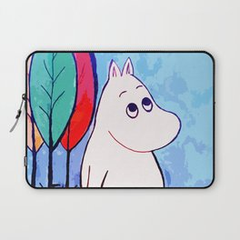 The walk of Moomin Laptop Sleeve