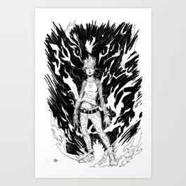 Full Power Art Print