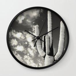 Beautiful Nature - Saguaro Cactus - I Wall Clock