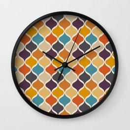 Moroccan Fall 3 Wall Clock