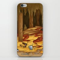 smaug iPhone & iPod Skins featuring Smaug, the last dragon by danielasynner