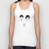 submarine Tank Tops featuring Submarine by ☿ cactei ☿