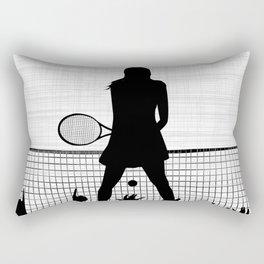 Tennis Ace Rectangular Pillow