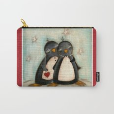 Penguin love -  Carry-All Pouch