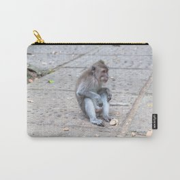 Crab-eating Macaque VII (Balinese Monkey) Carry-All Pouch