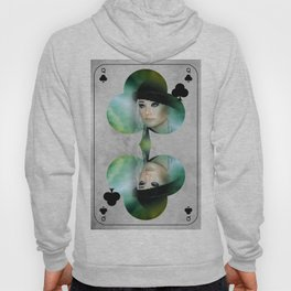 queen of clubs Hoody