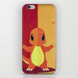 Charmandr Poke Minimalistic iPhone Skin