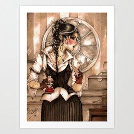 Compas Mentis Art Print