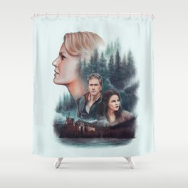 The Charming Family Shower Curtain