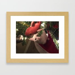 Meowy Christmas 1 Framed Art Print