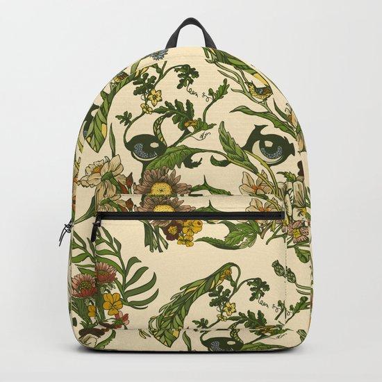 Botanical Pug Backpack