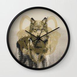 Standoff Wall Clock